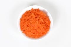 Geschnittene Karotten Lizenzfreies Stockbild