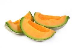 Geschnittene Melone Stockfoto