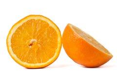 Geschnittene Orange Lizenzfreies Stockbild