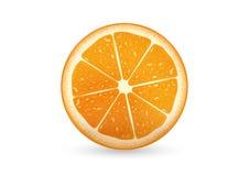 Geschnittene Orange Lizenzfreie Stockbilder