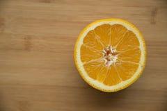 Geschnittene Orange Lizenzfreie Stockfotografie