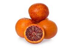 Geschnittene Orangen Stockbild