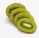 Geschnittene organische Kiwifrucht stockbild