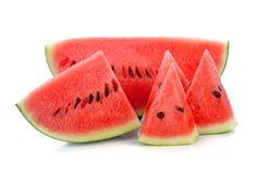 Geschnittene reife Wassermelone Lizenzfreie Stockfotografie