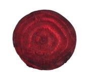 Geschnittene rote rote Rüben Lizenzfreies Stockbild