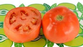 Geschnittene Tomate Lizenzfreie Stockfotos
