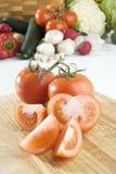 Geschnittene Tomaten Stockbild