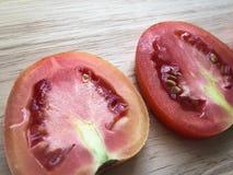 Geschnittene Tomaten Lizenzfreies Stockfoto
