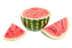 Geschnittene Wassermelone Lizenzfreie Stockbilder