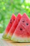 Geschnittene Wassermelone Lizenzfreies Stockfoto