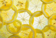 Geschnittene Zitrone lizenzfreie stockfotografie