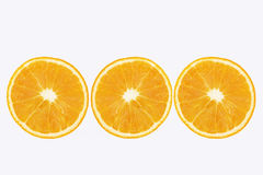 Geschnittene Zitrone Stockfotografie