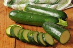 Geschnittene Zucchini Lizenzfreie Stockfotografie