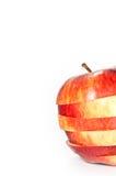 Geschnittener Apfel Stockfotografie