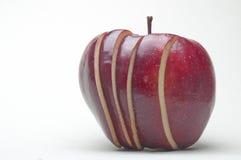 Geschnittener Apfel Lizenzfreie Stockfotos