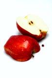 Geschnittener Apfel Stockfoto