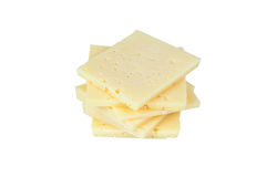 geschnittener Käse lizenzfreies stockfoto