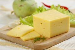 Geschnittener Käse Stockfoto