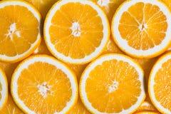Geschnittener orange Hintergrund Nahrung und Getränk Stockfotografie