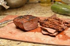 Geschnittener Rindfleisch-Tri Tipp lizenzfreie stockbilder
