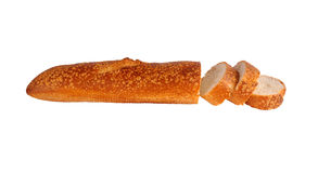 Geschnittenes ââloaf des Brotes Stockbilder