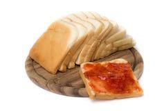 Geschnittenes Brot Lizenzfreie Stockfotos