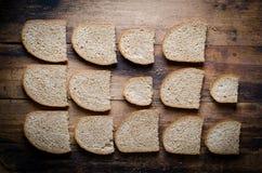 Geschnittenes Brot Stockfotografie