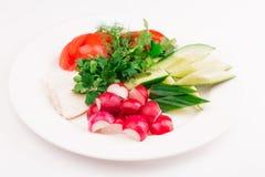 Geschnittenes Gemüse stockfotografie