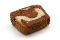 Geschnittenes Muffin stockfoto