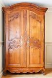 Alte Retro Garderobe Stockbild