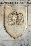 Geschnitzter Adler Stockfoto