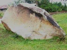Geschnitzter Felsen Stockbild