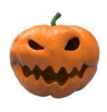Geschnitzter Halloween-Kürbis Vektor Abbildung