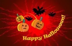 Geschnitzter Halloween-Kürbis Lizenzfreies Stockbild