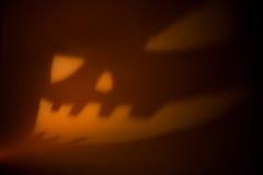 Geschnitzter Halloween-Kürbis Lizenzfreie Stockbilder