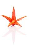 Geschnitzter roter Chili Peppers Flower II Stockfotos