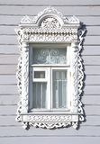 Geschnitztes Fenster Lizenzfreie Stockfotografie
