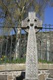 Geschnitztes Netz keltisches quer- Schottland Lizenzfreie Stockbilder