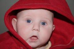 Geschokte Baby Royalty-vrije Stock Foto's
