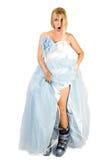 Geschokte bruid Royalty-vrije Stock Foto's