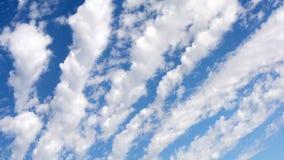 Geschossen auf Kennzeichen II Canons 5D mit Hauptl Linsen Schönes cloudscape mit den großen, errichtenden Wolken stock video