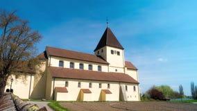Geschossen auf Kennzeichen II Canons 5D mit Hauptl Linsen UNESCO Die alte Kirche errichtet im 9. Jahrhundert gefunden in Deutschl stock video