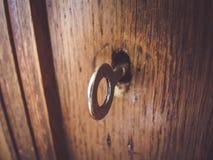 Geschossen vom alten Schlüssel lizenzfreies stockfoto