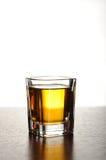 Geschossen vom Whisky Lizenzfreies Stockbild
