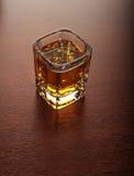 Geschossen vom Whisky Stockbild