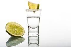 Geschossen vom Wodka Lizenzfreie Stockbilder