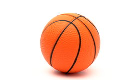 Geschossen von einem Basketball Lizenzfreie Stockfotografie
