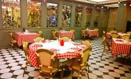 Geschoten in een Restaurant royalty-vrije stock foto