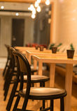 Geschoten in een Restaurant Royalty-vrije Stock Foto's