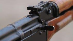 Geschoten van AK stock videobeelden